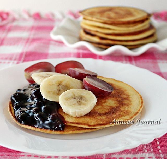 Pfannkuchen ohne Backpulver