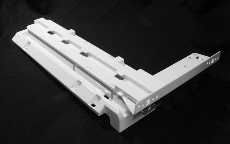 WR17X12055 GE Refrigerator LH Drawer Rail Slide
