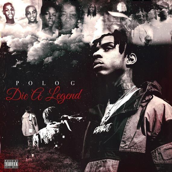 Poster Polo G Die A Legend Album Cover Rap Album Covers Music Album Cover Iconic Album Covers
