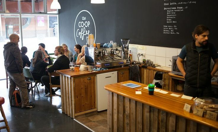 The Co-Op Coffee Shop