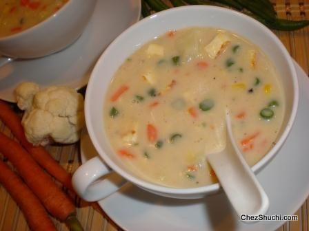 A nutritious, healthy, delicious, and easy to make Veg Soup....