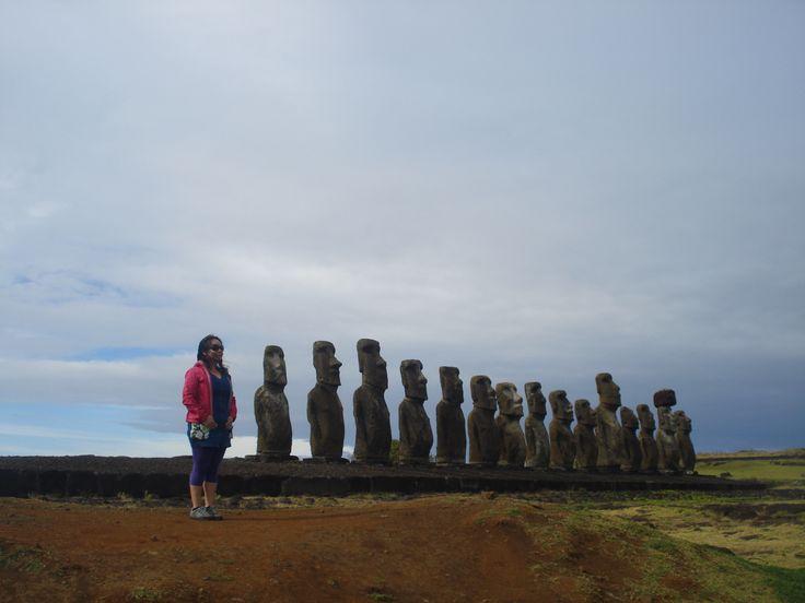 Ahu Tongariki, Rapa Nui (2014)
