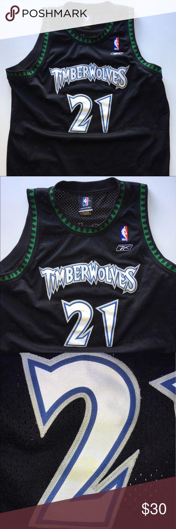 Los angeles lakers cheap nfl elite jerseys mlb coolbase jerseys nba - Vintage Reebok Kevin Garnett Jersey Size Xl