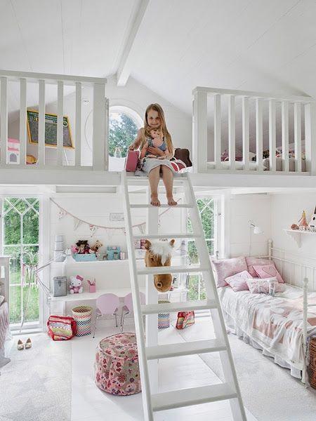 DECO infantil en dormitorios de + altura