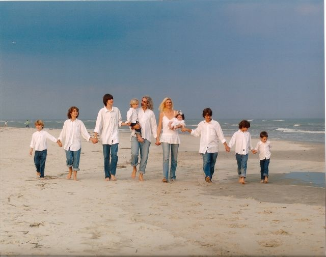 Guy Penrod and family- Beautiful people