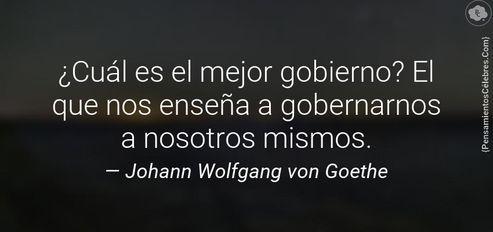 Resultado de imagen de JOHAN WOLFGANG VON GOETHE FRASES