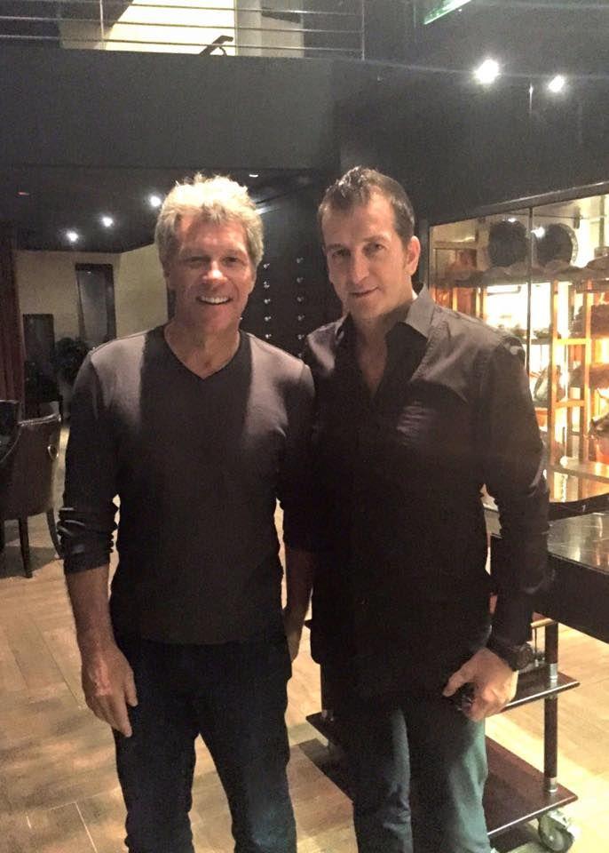 Mr Modesto Marini & Legendary Rocker Jon Bon Jovi