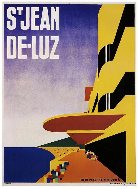 """Robert Mallet Stevens, """"St. Jean De Luz"""", 1928"""