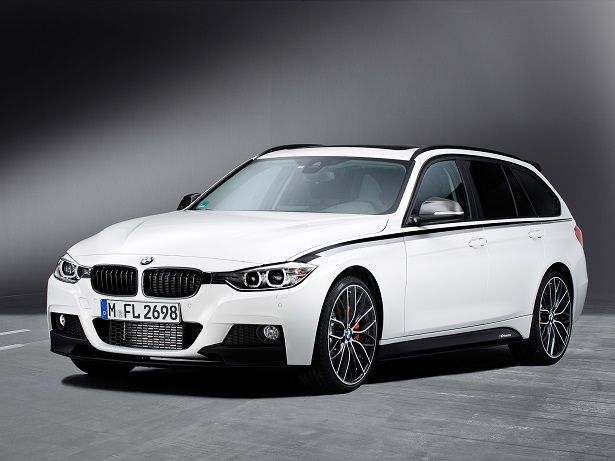BMW 3 Series Touring Performance Accessories (2012).