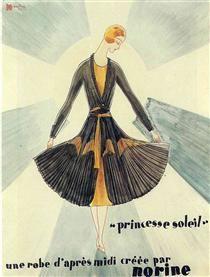 "Advertisment for ""Norine"" - Rene Magritte"
