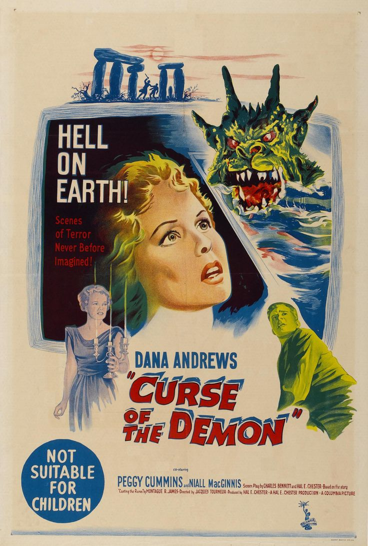 Curse of the demon 1957 night of the demons horror