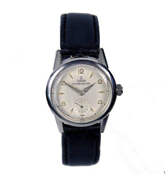 Original Rolex Tudor Oyster Air-Lion Pilot's Wristwatch by Rolex of Geneva, Switzerland 1950s