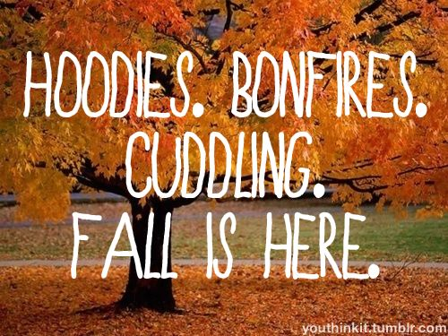 Fall is here. #Fall #Autumn