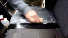 Nettoyer des sièges en tissu de voiture