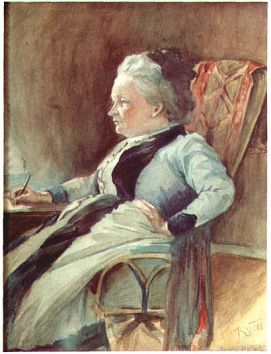 Minna Canth, portrait by Kaarlo Vuori   (19 August 1863 - 22 June 1914), Finnish painter.