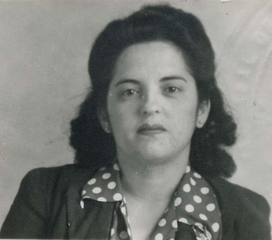 "During World War II, Latinas were contributors to the war effort, these Rosies worked in manufacturing along side women from across the American homefront. We found a record of Mina Mendoza, a young woman born in Hermosillo, Mexico. She made her way to the United States with her family in 1927, crossing the border on foot at Douglas, Arizona. When the war started, Mina, 5' 1"" and 114 lbs, she was operating a milling machine in the Los Angeles area. Ms. Mendoza became a U.S. citizen in 1944."