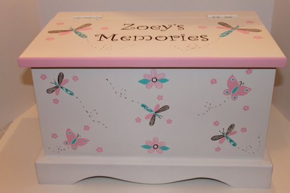 Pink & Turquoise Country Critters baby keepsake by staciedale, $255.00