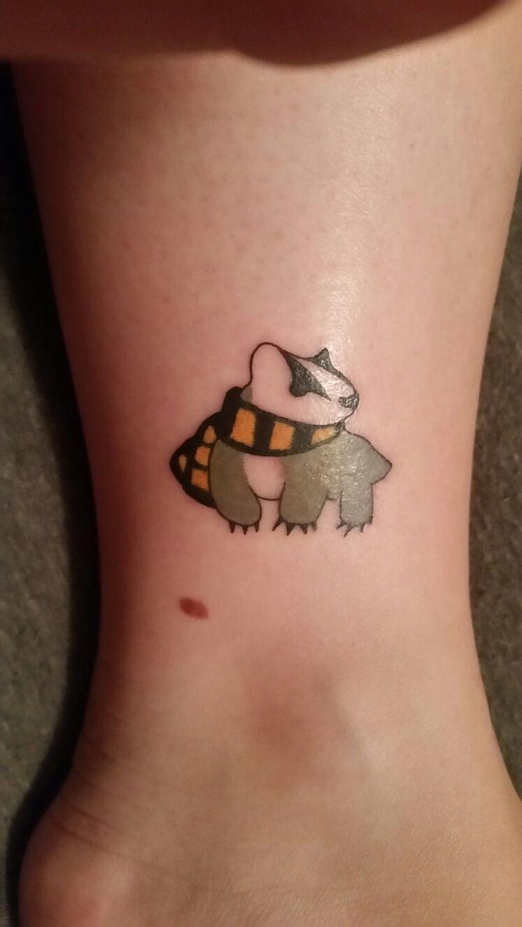 My Harry Potter tattoo. I've always belonged to Hufflepuff. #HarryPotter #hufflepuff #Always