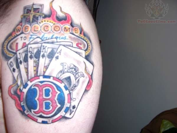 Best 25 poker tattoo ideas on pinterest casino tattoo for Cheap tattoos las vegas