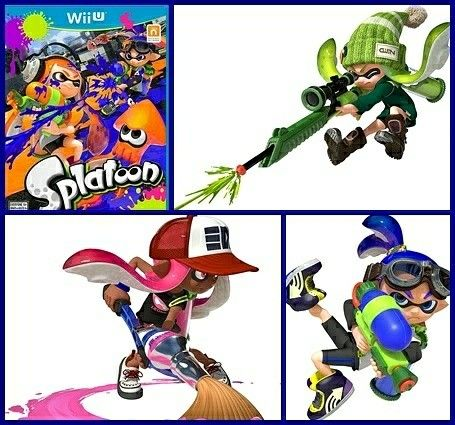 #Splatoon #WiiU #Nintendo #Cartoon violence #battle #shoot #Holiday #Gift #fun #challenge #game #Amazon #ad⠀ http://amzn.to/2AocAkp