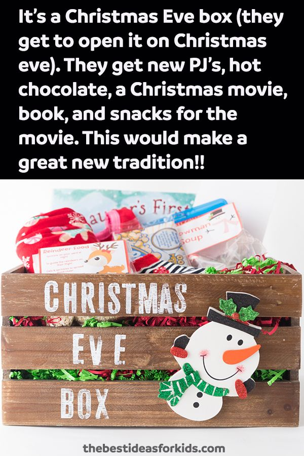 Christmas Eve Food In Spain: 25+ Unique Christmas Eve Box Ideas On Pinterest