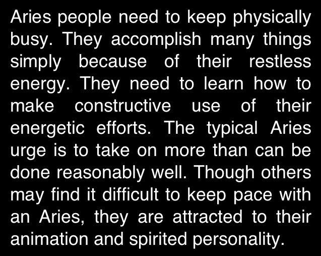 Aries description
