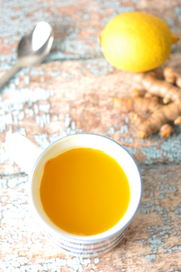 Turmeic & Ginger Tea - How To Stay Healthy During Winter #turmeric #ginger #antioxidant