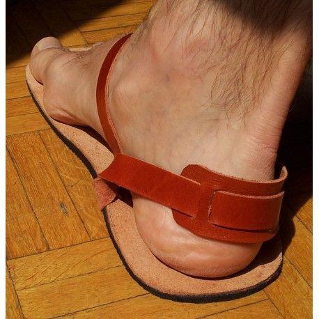 LightRun Sandals - detalle del tensor del tendón de Aquiles