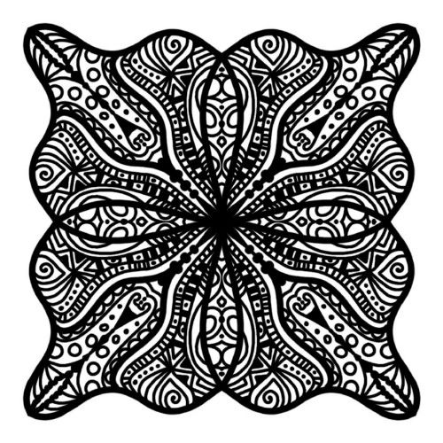 Intricate Coloring Page Coloring Drawing Mazes