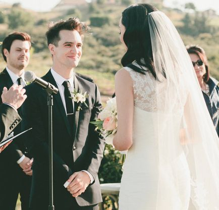 25 Best Ideas About Brendon Urie Wedding On Pinterest