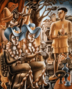 The Two Sisters Edward Burra