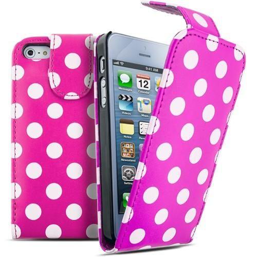 FoneBitz - iPhone 6 Polka dot flip case