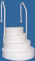 Wedding Cake Steps for Above Ground Pools - Direct Pool Supplies