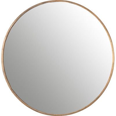 Corrigan Studio Round Mirror & Reviews | Wayfair