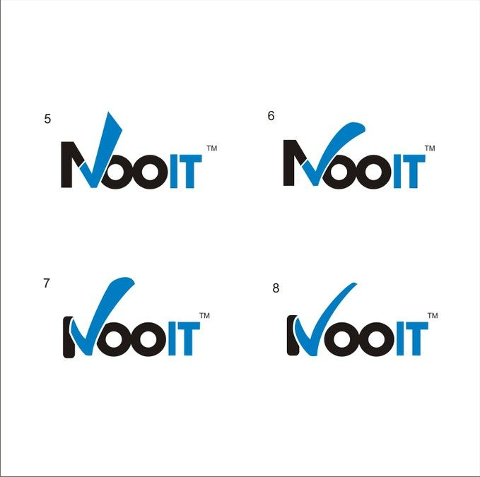 Logo for Nooit - a Sports Predictions Website by Mit-Design