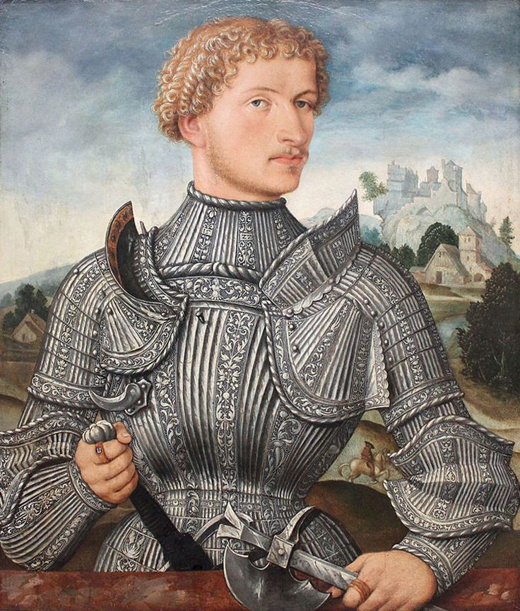 Anonyme, A Knight of the Rehlinger Family (1540)