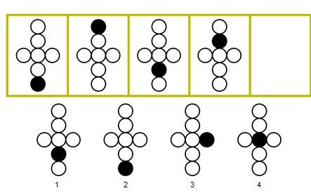 OLSAT Level C — Serial Reasoning Look at the pictures in these boxes.  Do you see how they go together in a certain way?  We need to put something in the empty box.  Look at the pictures in the bottom row?  Which picture from the bottom row belongs in the empty box?