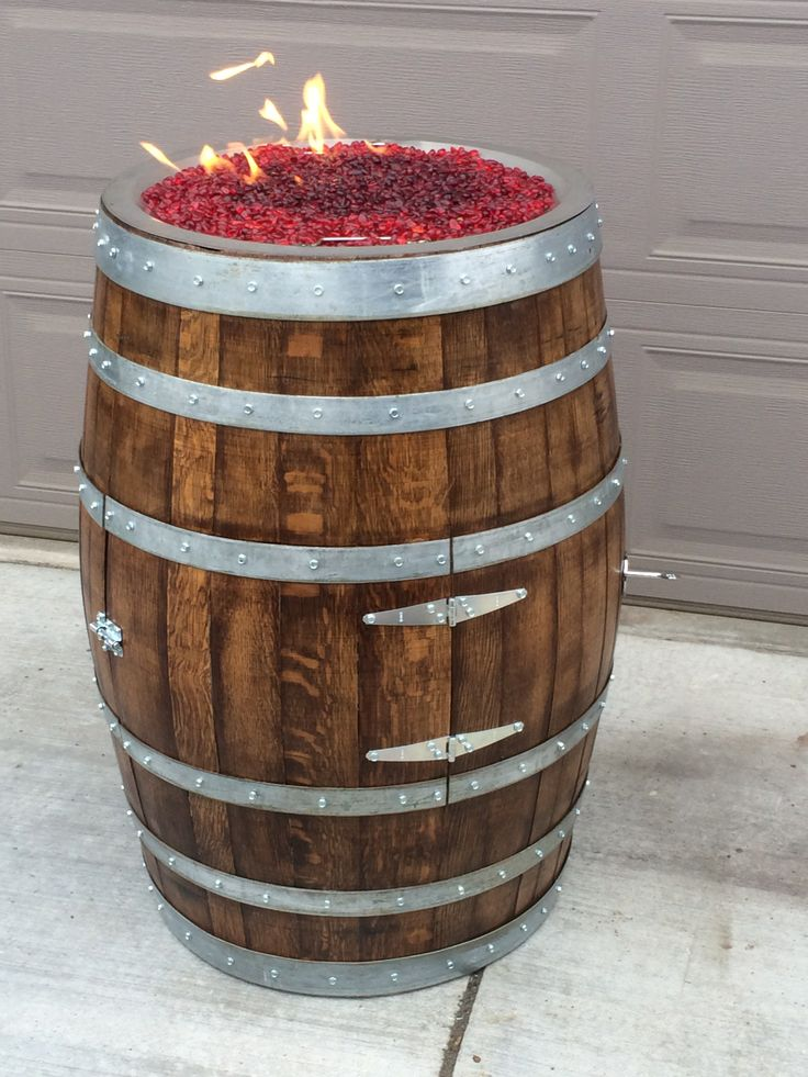 1000 images about wine barrel crafts on pinterest diy for Wooden barrel planter ideas