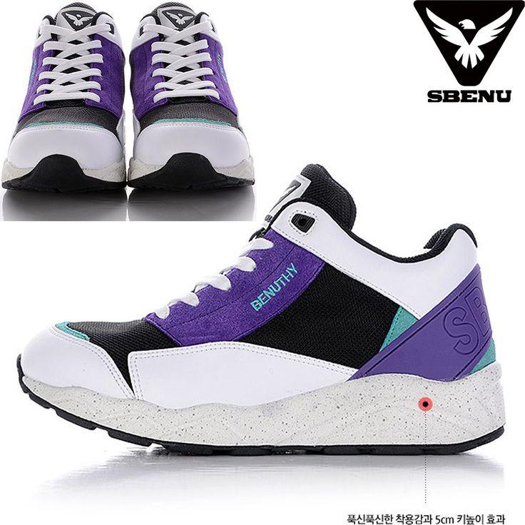 (SBENU) B(BN)-003 PP BENUTHY Mens Womens Sneaker Running Elevator