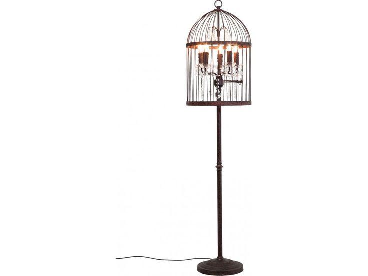 Lampa Podłogowa Cage Chandelier — Lampy podłogowe — KARE® Design