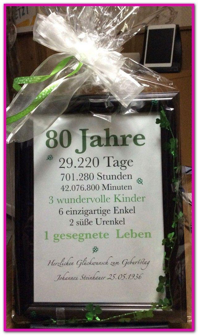 Besondere Geschenke Fur Manner Zum 80. Geburtstag-…