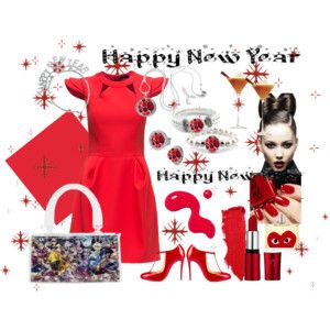 Happy New Year in Red!