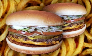Groupon - $ 5 for Two #1 Cheeseburgers and Two Sides of Fresh-cut Fries at Van's Pig Stand ($ 10.26 Value) in Multiple Locations. Groupon deal price: $5.00