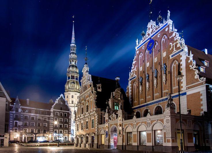 Riga , Latvia by Aleksei Golubovich on 500px