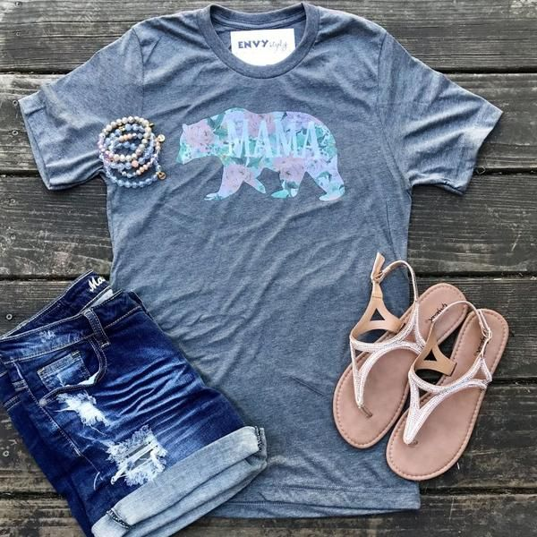 Mama Bear Graphic Tee (T-1)