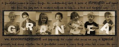 A Few of My Favorite Things: CRAFTASTIC: Easy DIY Father's Day Artwork... could gather pics of the kids and cousins fairly easily, even from cross country.
