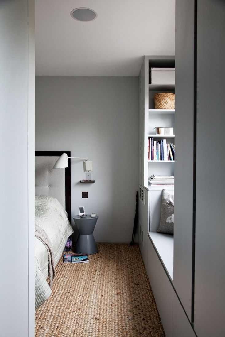 Architectural Built-in Storage, Seating nook by window