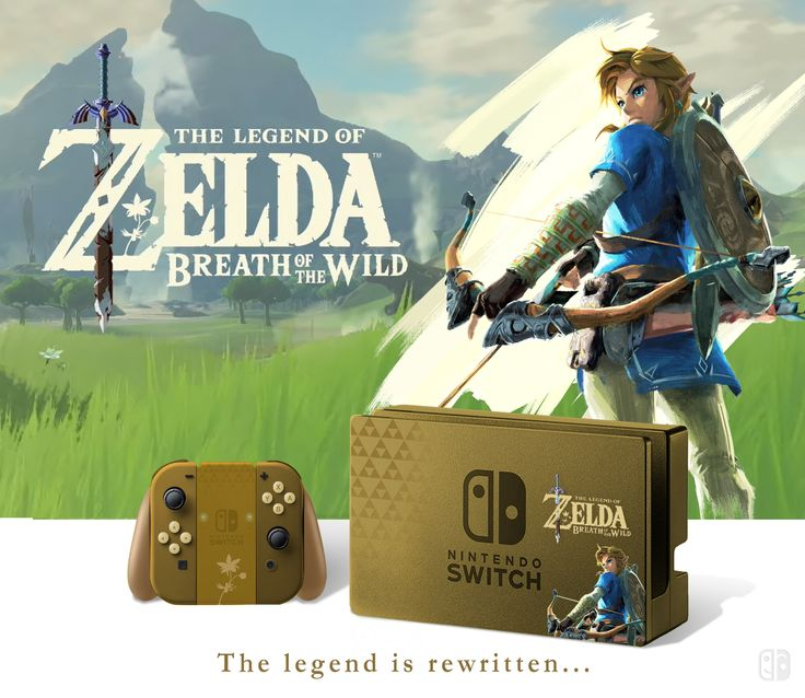 nintendo switch zelda the breath of the wild collector