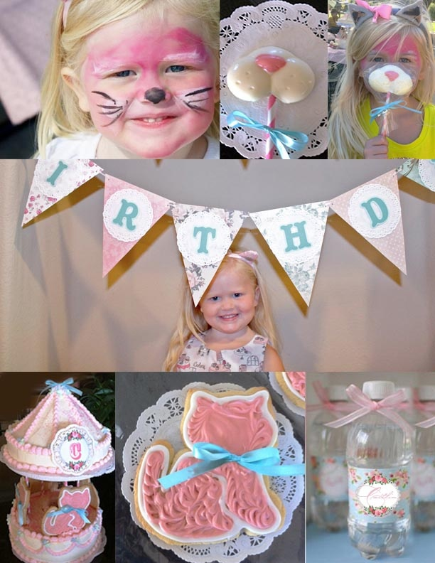Best Kitty Puppy Birthday Party Images On Pinterest - Childrens birthday parties orleans ontario