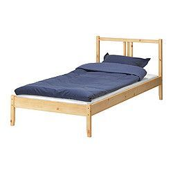 FJELLSE Bed frame - IKEA ~i can put things under this bed :) i built it all by myself bro!